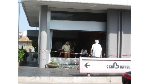 incidente senbhotel