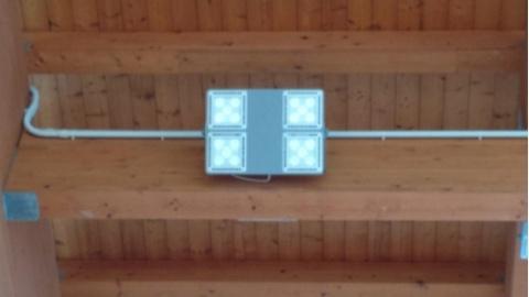 Personalizzare esposizione montata a parete armadio illuminazione