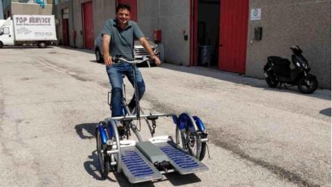 Arriva Da Senigallia La Bicicletta Che Cambia La Vita Ai Disabili