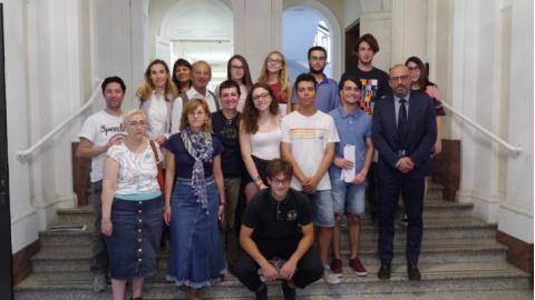 Ufficio Lavoro Senigallia : Alternanza scuola lavoro conclusa l esperienza in consiglio per