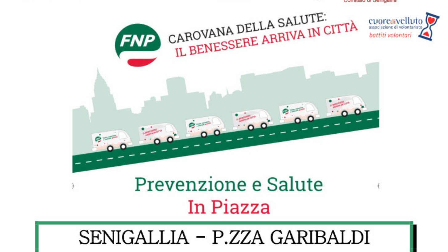 Screening Sanitari E Visite Di Controllo Gratuite Arriva La Carovana Della Salute