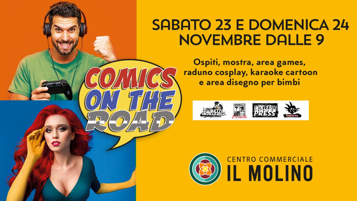 """Al Centro Commerciale il Molino di Senigallia il 23 e 24 novembre arriva """"Comics on the road"""" - Vivere Senigallia"""